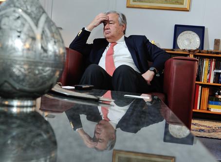 António Guterres' risky balancing act