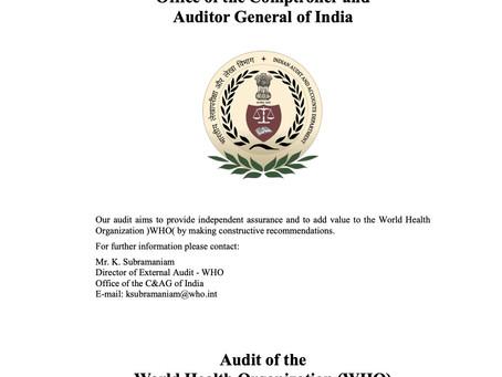 External Audit flags massive problems in WHO procurement practices