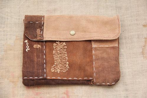 Japanese sakabukuro patchwork purse