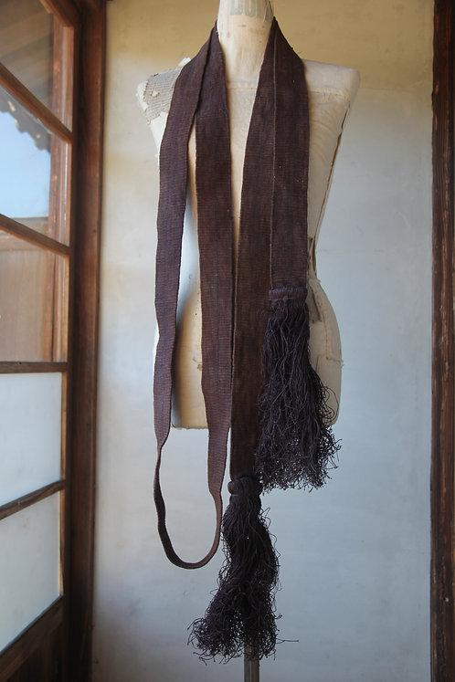 Vintage Japanese hand woven ramie rope