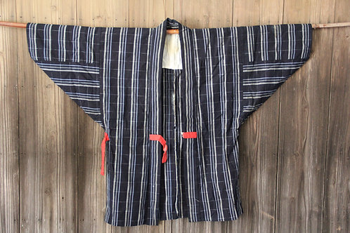 Vintage indigo kasuri hanten  jacket