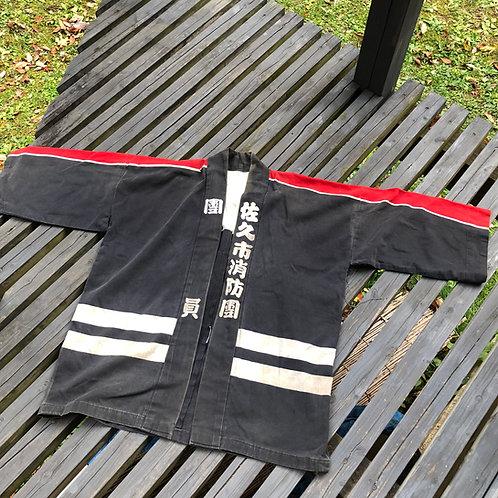 For Marcus Vintage Japanese indigo dyed fireman HIKESHI hanten jacket