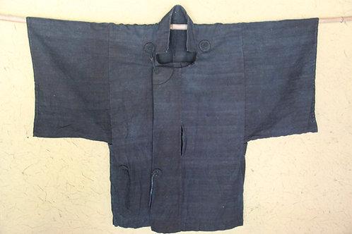 Vintage Japanese indigo dyed hand woven jacket