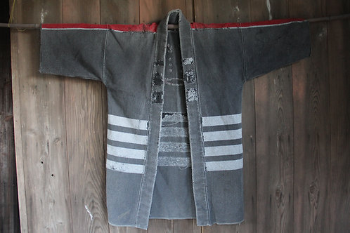 Vintage Japanese Large fireman HIKESHI hanten jacket