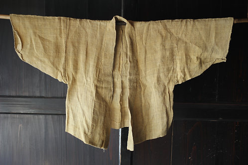 Vintage Japanese hemp handwoven jacket