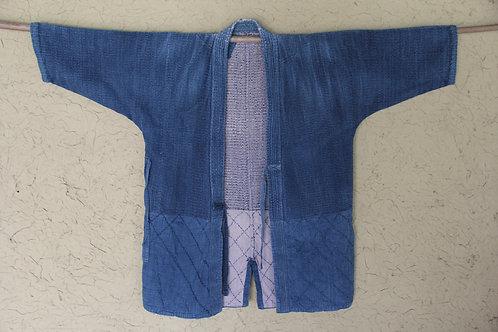 Vintage Japanese hand sashiko stitched ken-do jacket