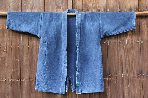 Vintage Japanese indigo dyed ken-do jacket TAKAYAMA