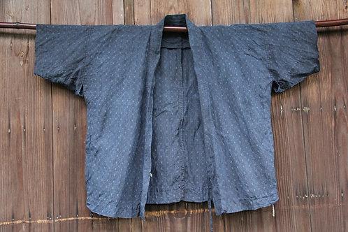 Vintage hemp indigo noragi jacket