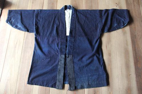 Vintage Japanese  indigo dyed noragi jacket