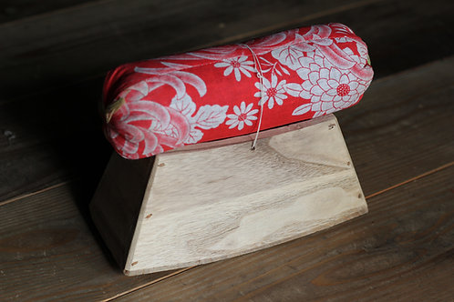 Vintage Japanese wooden pillow