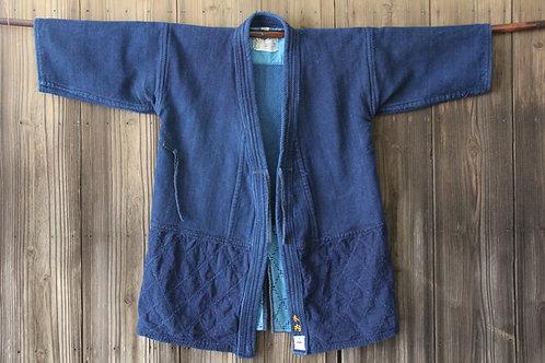 Vintage Japanese indigo dyed ken-do jacket KIUCHI