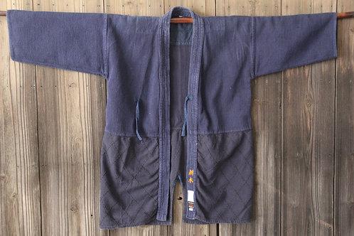 Vintage Japanese Black and Purple ken-do jacket