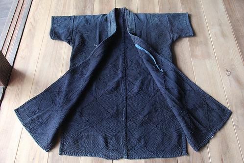 Vintage Japanese indigo dyed Sho-nai sashiko noragi jacket