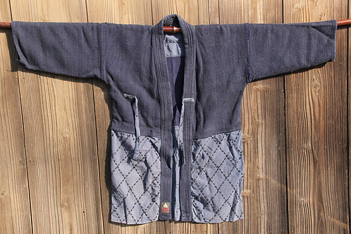 Vintage Japanese black ken-do jacket