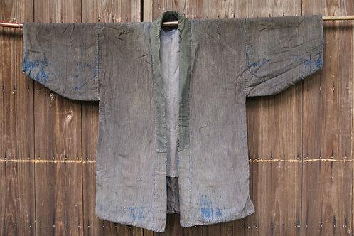 Vintage sashiko stitched noragi jacket
