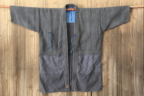 Vintage Japanese Black ken-do jacket