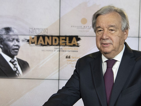 António Guterres Finally Lets Loose