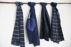 Japanese Boro scarves