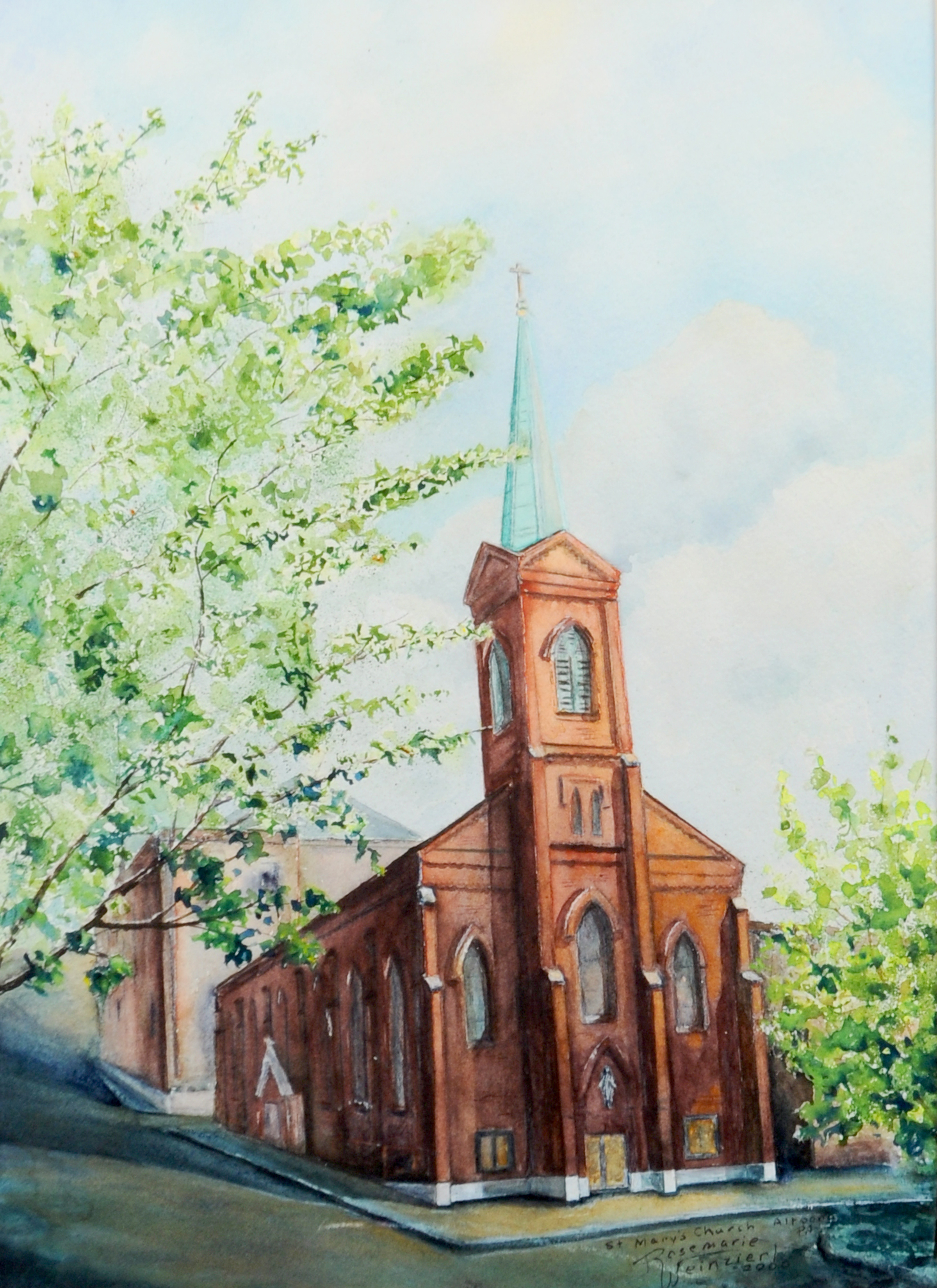 Painting of St Marys