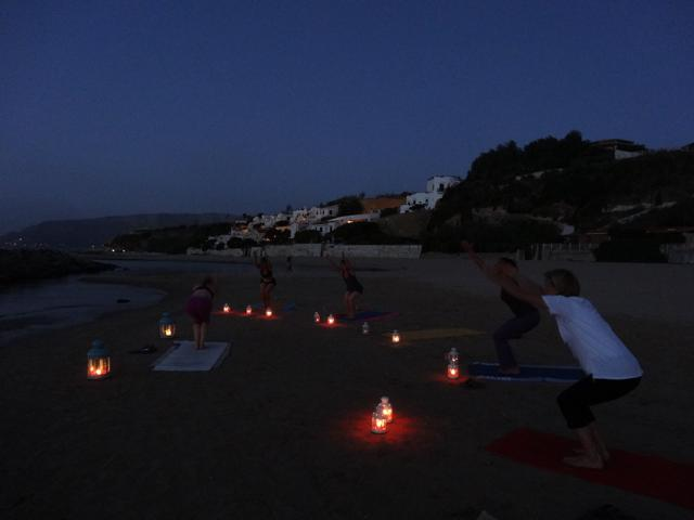 Yoga by night