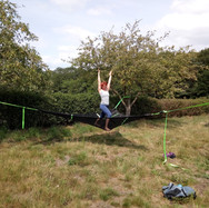 Trapeze yoga