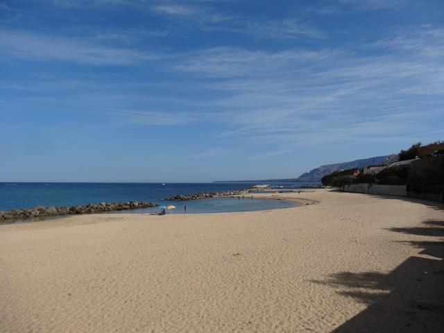 Trappeto strand
