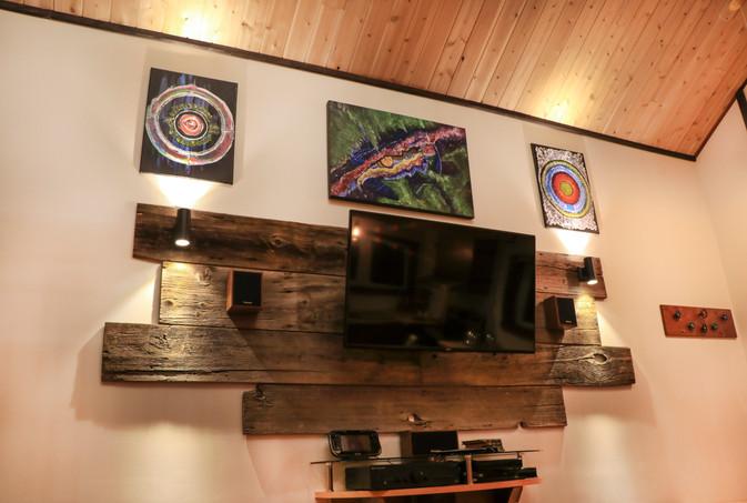 Télévision Mural La Garde-Feux