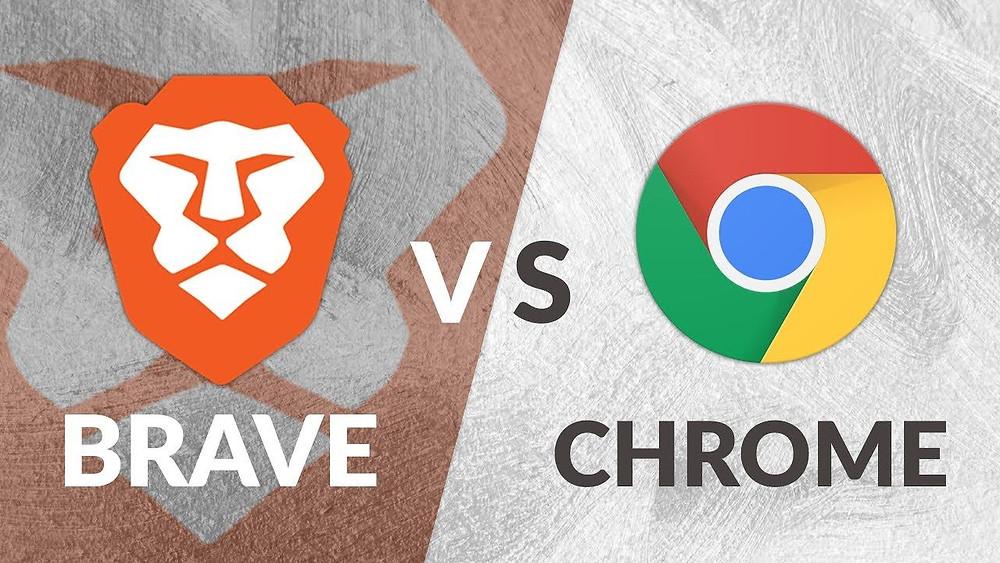 Brave Internet Browser vs Google Chrome Internet Browser