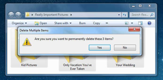 Accidental File Deletion