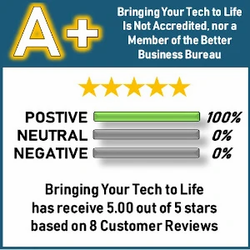 A+ Rated Computer Repair Business with the Better Business Bureau