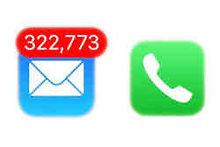 Email Inbox Size