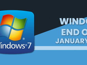 Windows 7 End of Life starting 2020