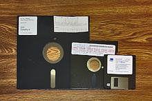 Data Backup Floppy Disks