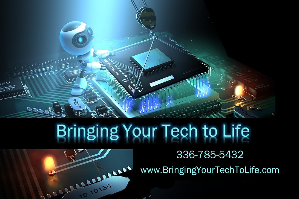 Bringing Your Tech to Life - Business Card