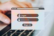 online account passwords