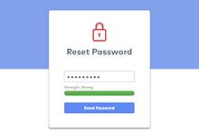 Online Account Reset