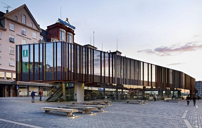 Fischmarkt Bergen Norwegen © Norbert Miguletz Fotografie