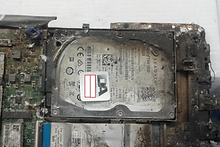 Data Recovery Fire Damaged Storage