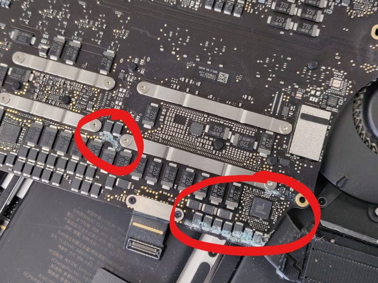 Known Manufacturer Defects of Macbook