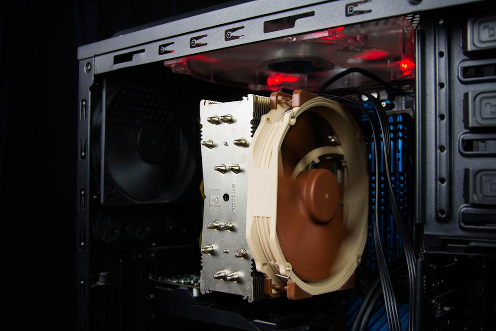 Overheating Desktop Computers can be easily fixed with cleaning of fans and heatsinks.