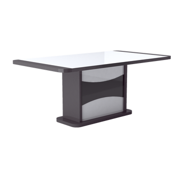 TABLE RECTANGULAIRE 1 ALLONGE N°10