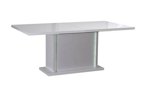 TABLE RECTANGULAIRE 1ALLONGE (avec luminaire) N°10