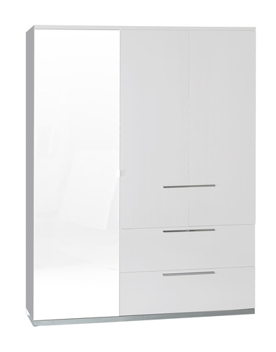 Armoire 3PO 1G 2T  n°33 | 3 doors and 2 drawers wardrobe  (1 glass) n°33