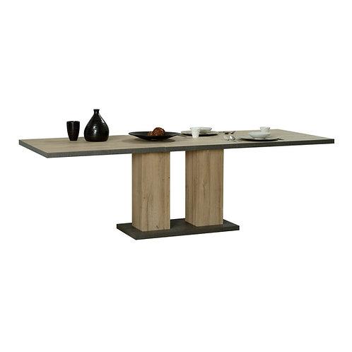 OSLO table rectangulaire 1 allonge N°10