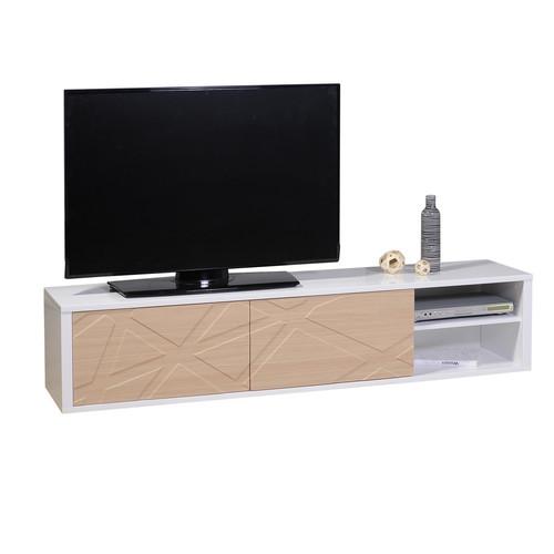 TV HIFI 180 2 portes 1 NICHE N°38 | 2 DOORS TV UNIT 180 N°38