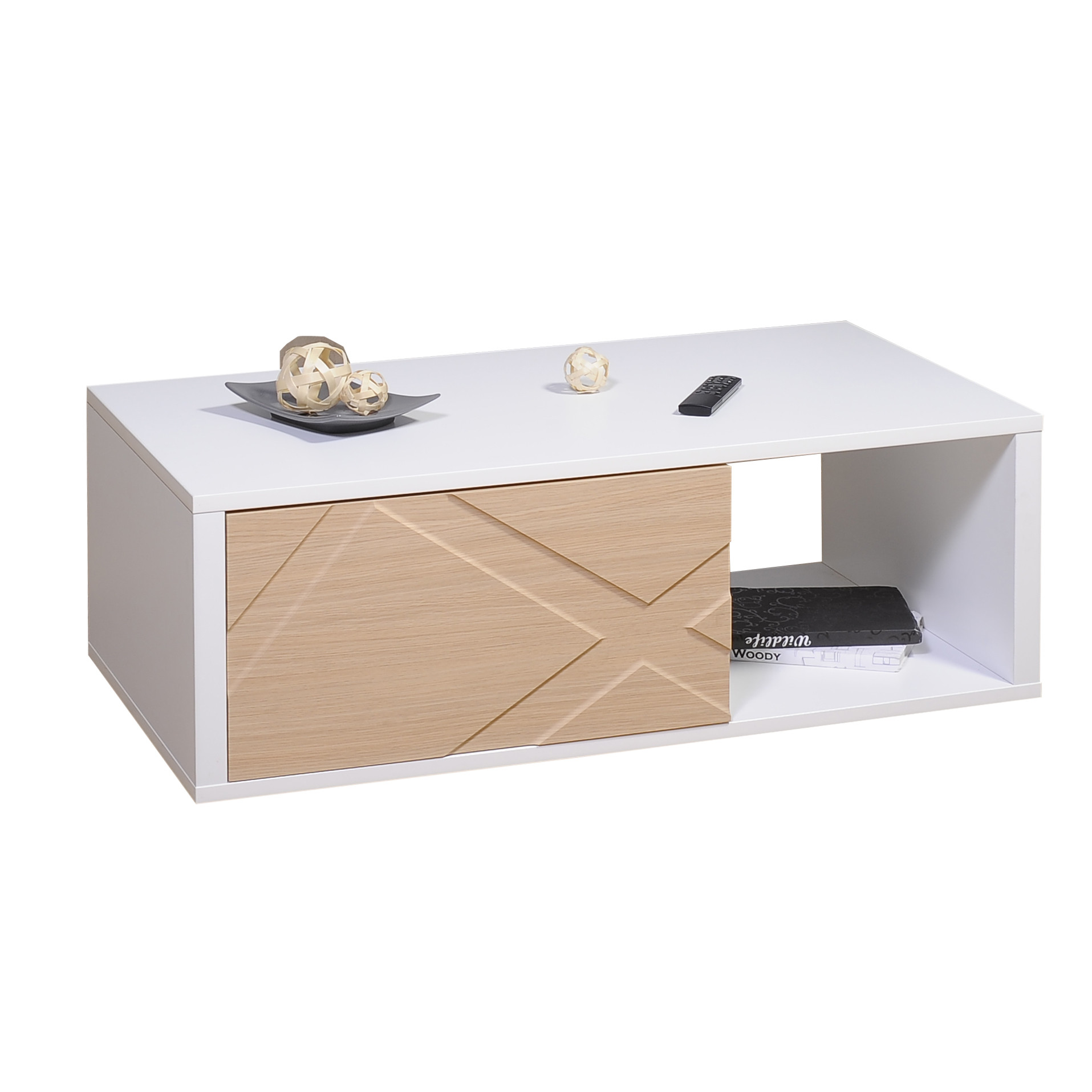 Table Tiroir Coffee 1 Basse N°12Drawer QCxWoreEdB