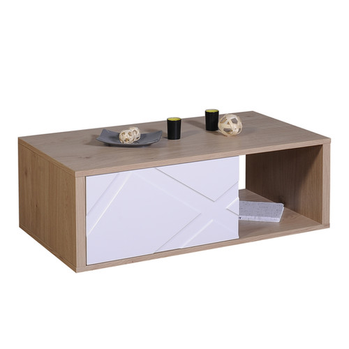 TABLE BASSE 1 TIROIR N°12 | 1 DRAWER COFFEE TABLE N°12