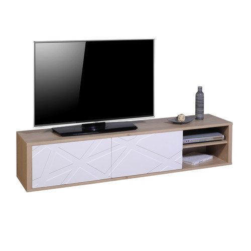 TV HIFI 180 2 portes 1 NICHE N°38 | 2 DOORS TV UNIT 180 N°38