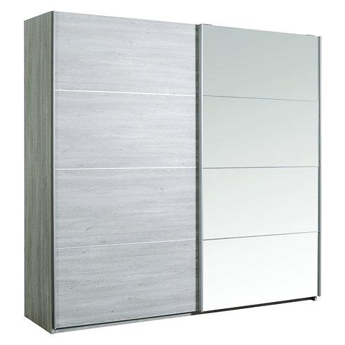 NEVA armoire 2 portes coulissantes