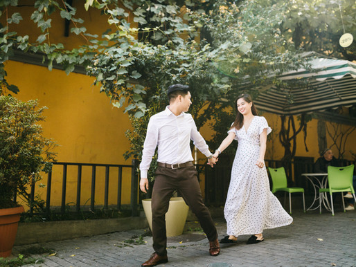 Тёплая свадьба в Тбилиси